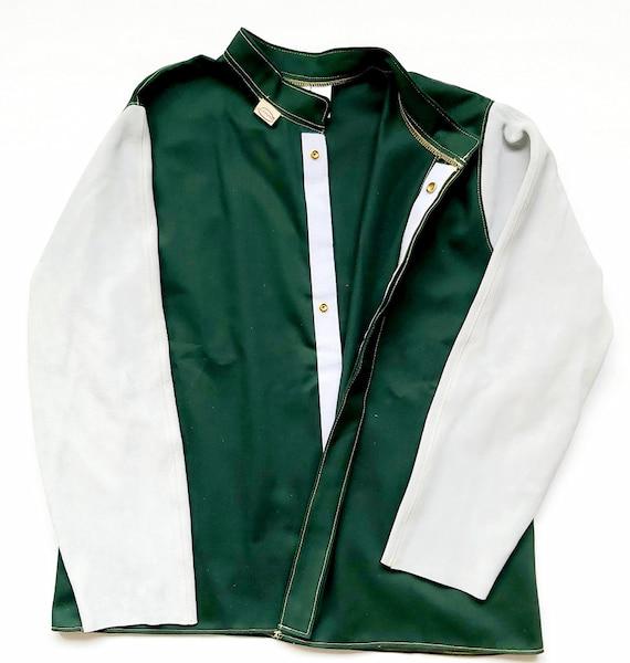 chaqueta de algodón para soldador
