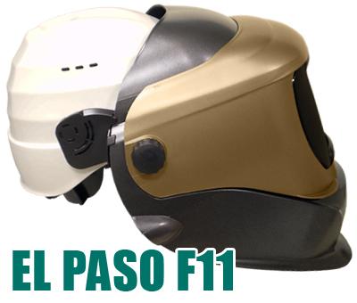 careta de soldar dc3 con casco de obra
