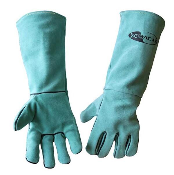 guantes de soldador extralargos
